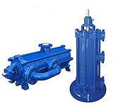 Horizontal High-Pressure Multistage Double Suction Split Case Pumps